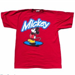 Vtg rare 70's Mickey Mouse t shirt by Admit One